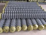 Fertigung-beschichtete Qualität galvanisierter Kettenlink-Zaun, PVC Kettenlink-Zaun