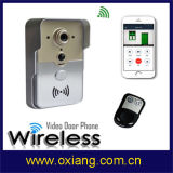 Wireless interfone telefônico automático sem fio com vídeo Colar