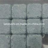 テラスのための中国Natural Tumbled Granite Cobblestone Pavers、Drivewayの庭
