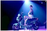 Motocicleta de E com a motocicleta elétrica do motor de 800W Bosch para a venda