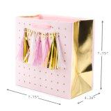 Bolso maravillosamente diseñado del regalo, bolso de papel del regalo, bolsa de papel de arte, bolsa de papel que hace compras, bolsa de papel de Kraft