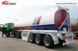 판매를 위한 반 40000L-50000L 연료 탱크 트레일러