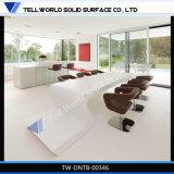 高品質のホームのための白いダイニングテーブルデザインかオフィスまたはレストラン