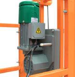 Zlp800 Plastique Revêtement Finition Acier Tuyau Type Fin Stirrup Powered Suspended Platform