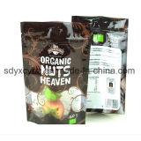 Sacchetto di plastica a chiusura lampo per gli spuntini Nuts