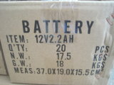 12V 2.2AH ácido de chumbo selado VRLA Manutenção bateria solar