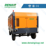 Compresseur à air à vis mobile à moteur diesel (ISO et CE)
