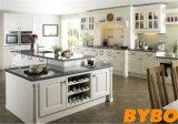 米国式の純木の台所家具