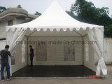 Paraguas incombustible impermeable semipermanente del patio de la pagoda del PVC