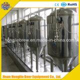 La strumentazione completa di preparazione della birra include il fermentatore della birra