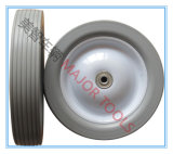 외바퀴 손수레를 위한 편평한 자유로운 바퀴 PU 거품 바퀴