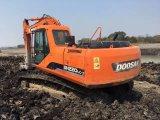Excavador usado de Doosan Dh220LC-7 (excavador DH220LC-7 de la correa eslabonada de DOOSAN)