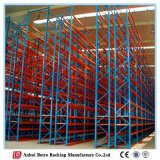 Китай для тяжелого режима работы оцинкованных Q235 склад стали селективный свет стеллажа для поддонов