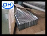 Tôle d'acier ondulée de la feuille Gi/Gl de toiture