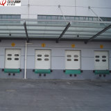 Автоматическая промышленная секционная надземная дверь штарки с телезрителем окна
