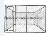 Le chenil de crabot de maillon de chaîne le font vous-même frontière de sécurité provisoire de crabot