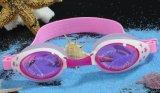 Les enfants réglable souple en Silicone antifog nager verres de lunettes de natation étanche anti UV