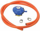 LPG Compact Low Pressure Gas Regulator mit Hose Blue (C10G52U30)