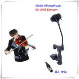 Профессиональный инструмент скрипка микрофон для Akg Mandolin Виола Mikrofone Samson беспроводная система передатчика XLR 3 контактный вход для микрофона
