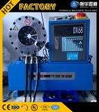 Parte superior 1/4 '' - a máquina de friso da mangueira 2 '' 4sp hidráulica, Dx68 Dx69 com 10 morre a máquina de friso da mangueira de alta pressão dos jogos
