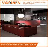 Armadio da cucina di legno della lacca variopinta di Renovative del fornitore della Cina