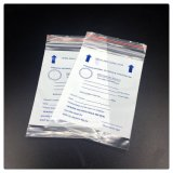 PE White Medical Zip Lock Bag para medicina