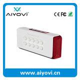 4.0 Batería de la potencia del altavoz de Bluetooth con un sostenedor del teléfono