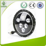 7 인치 크리 사람 Offroad 60W를 위한 둥근 LED 차 빛 LED 모는 빛
