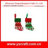 크리스마스 훈장 (ZY11S71-1-2) 양말 모양 크리스마스 부대 선물