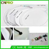 Heiße Verkauf Frameless Instrumententafel-Leuchte der runden Form-9W LED