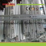 Glissière de tiroir roulement à billes de fois de la fabrication trois de groupe d'Eoncred