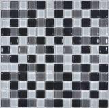 Piscina de 6mm baldosas mosaico de vidrio
