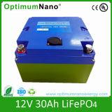 Batería de litio profunda de la UPS de la vida de ciclo 12V 30ah