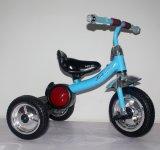 Ce apprenti Kids Tricycle Children Ride on Car avec musique Jouets pour bébés