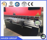 Freio da imprensa hidráulica do CNC We7k-63X2500, máquina de dobra da placa de aço