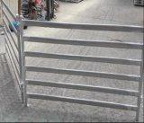 Câmara de ar oval painel de aço galvanizado da cerca do gado
