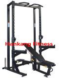 Equipos de gimnasio, gimnasio, Hummber olímpico de la fuerza, la mitad de Rack con banqueta regulable-PT-724