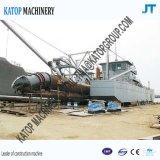 2000mの管350mmが付いている14インチ油圧カッターの吸引の浚渫船