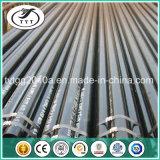Tubo de acero negro para el edificio Q195-Q345 de la estructura