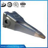 Dente e adaptadores da cubeta da máquina escavadora 223-8132/232-2131 dentes da cubeta do forjamento da máquina escavadora da lagarta dos dentes da cubeta da máquina escavadora que forjam as peças