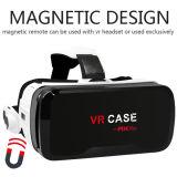 Tous dans un cadre de Vr en verre du virtual reality 3D