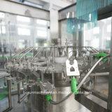 Fábrica embotelladoa entera de llavero de la máquina de rellenar del zumo de manzana