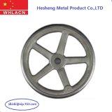 Bâti de précision d'investissement de roue de main d'acier inoxydable