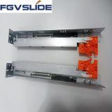 Glissière inférieure hydraulique de course de voie de support de 2 fois