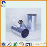 Rollo de vinilo de vacío de plástico rígido de impresión offset brillante hoja transparente de PVC