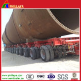Macchina pesante della base di trasporto basso idraulico resistente del rimorchio