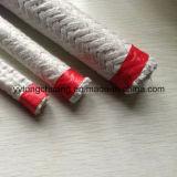 Temperatura rinforzata con vetro Rotondo-Braided della corda della fibra di ceramica resistente fino a 1050c