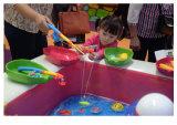 새로운 아이 게임 낚시대 연못 아이들 낚시질
