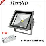 옥외 방수 사각 LED 플러드 빛 50W