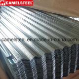 A construção de edifício Metals a folha de aço revestida zinco do telhado